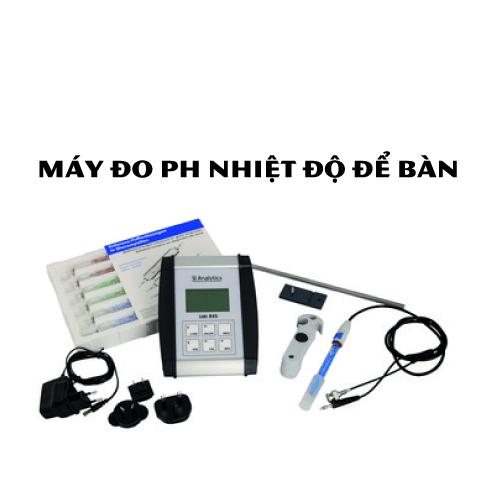 Máy đo pH nhiệt độ để bàn điện tử hiển thị số