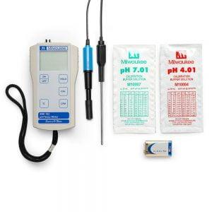 MW102FOOD_ máy đo pH nhiệt độ thực phẩm
