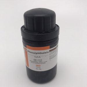 Phenolphthalein Indicator C20H14O4