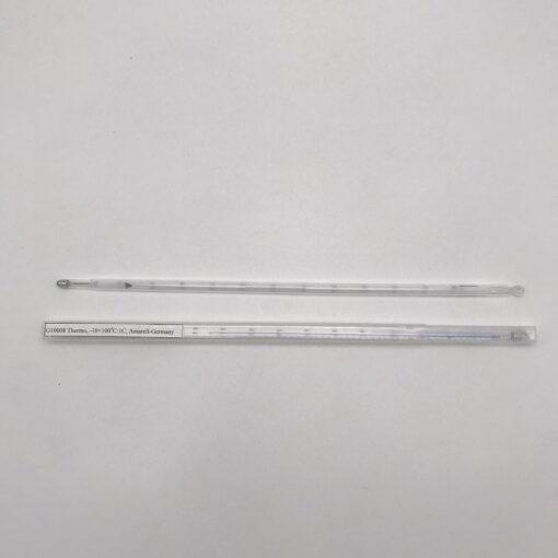 Nhiệt kế thủy ngân -10 ->100oC chia vạch 1oC, dài 300mm