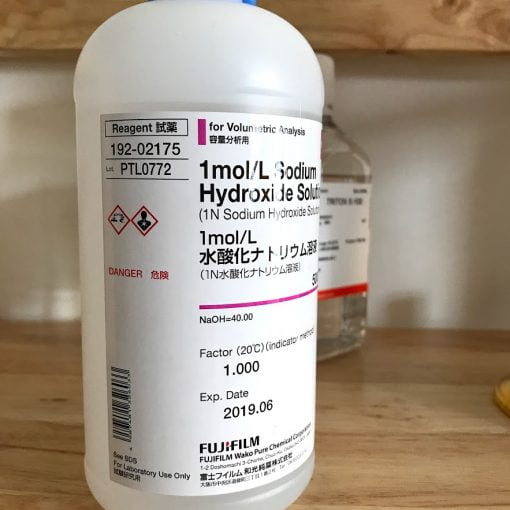 Sodium Hydroxide Solution 1mol/l