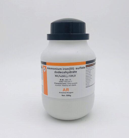 Ammonium Iron (III) Sulfate dodecahydrate